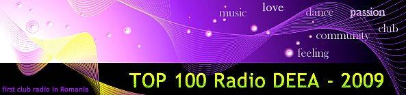top 100 club dance Radio DEEA 2009